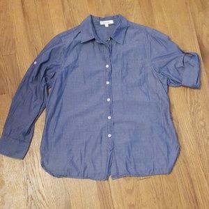 Chambray button up shirt